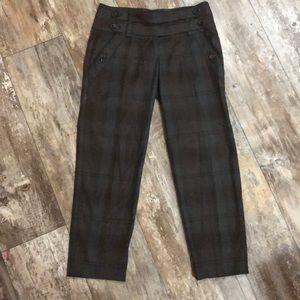 Anthropologie | Cartonnier Plaid Pants size 0